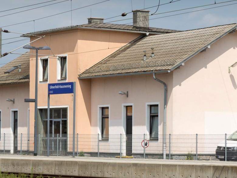 Damals & Heute: Der Bahnhof in Hausmening - Amstetten